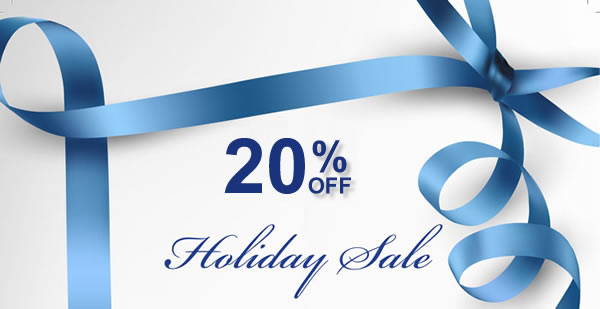 20% OFF HOLIDAY SPECIALS